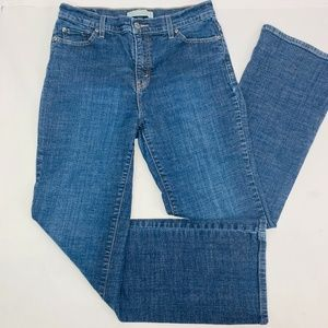 Levis 518 Womens Jeans 12 Medium Blue Perfectly